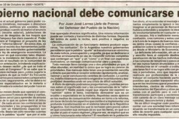 Diario Norte - Chaco - Juan Jose Larea