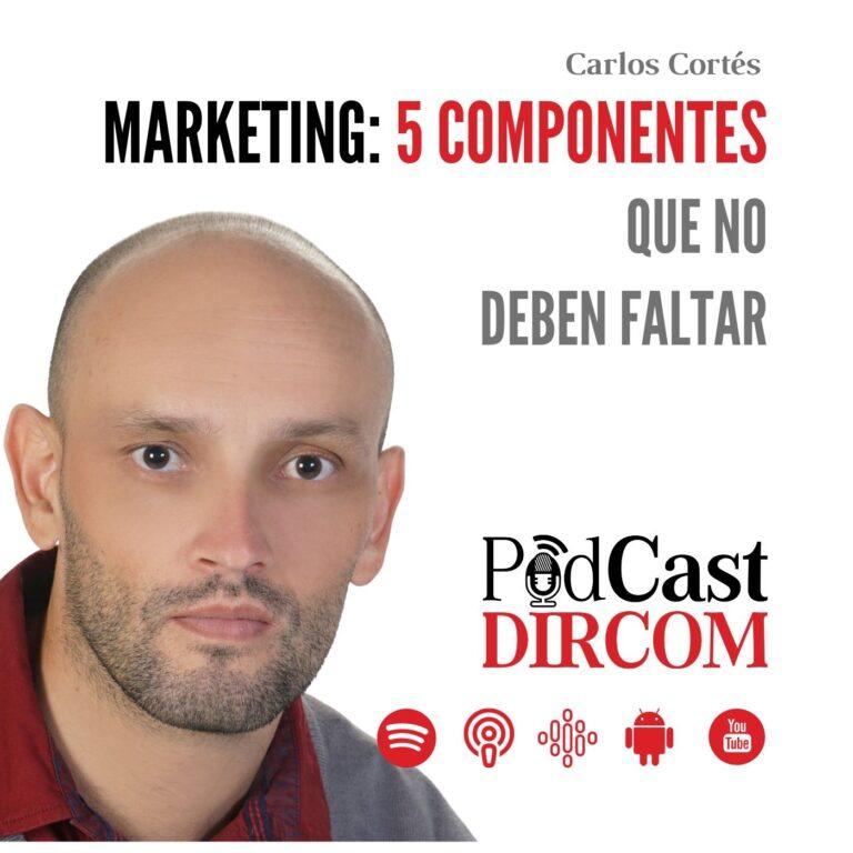 Marketing 5 Componentes